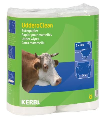 Papír na vemena Uddero Clean pro suché i mokré čištění 2 x 200 útržků