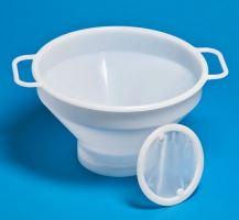 Síto na mléko plastové s uchy průměr 28 cm bez sítka
