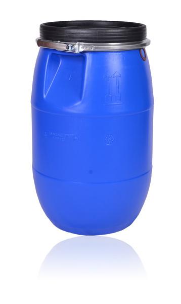 Hygienický plastový sud na dešťovou vodu, ovoce, potraviny 60 l střední, certifikát UN