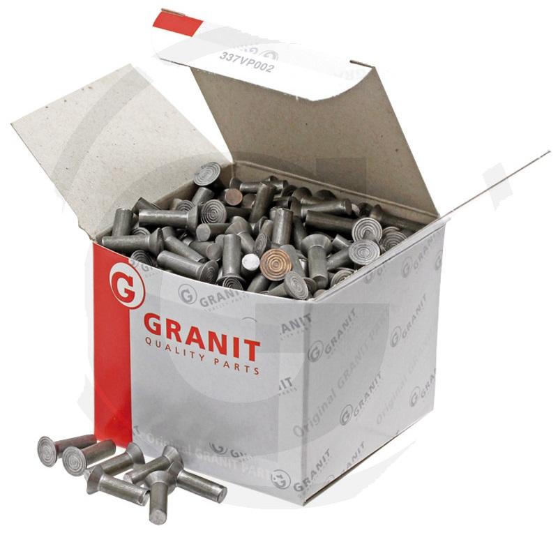 Zápustné nýty 5 x 25 DIN 661 balení s cca 100 ks 0,5 kg pro secí botky Kongskilde,Nordsten