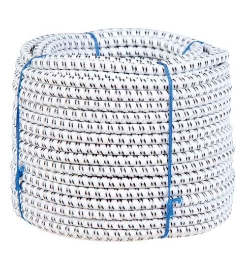 Chapron náhradní vodivé gumové lano pro brány s gumovým lanem průměr 7 mm 25 m
