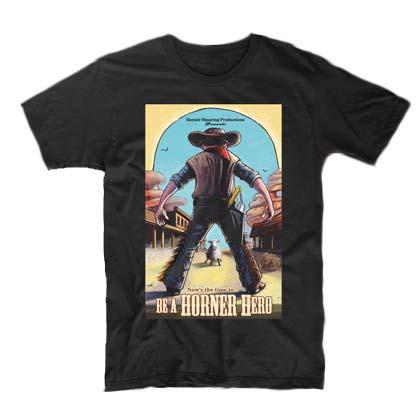 Tričko pro střihače Be a HORNER Hero