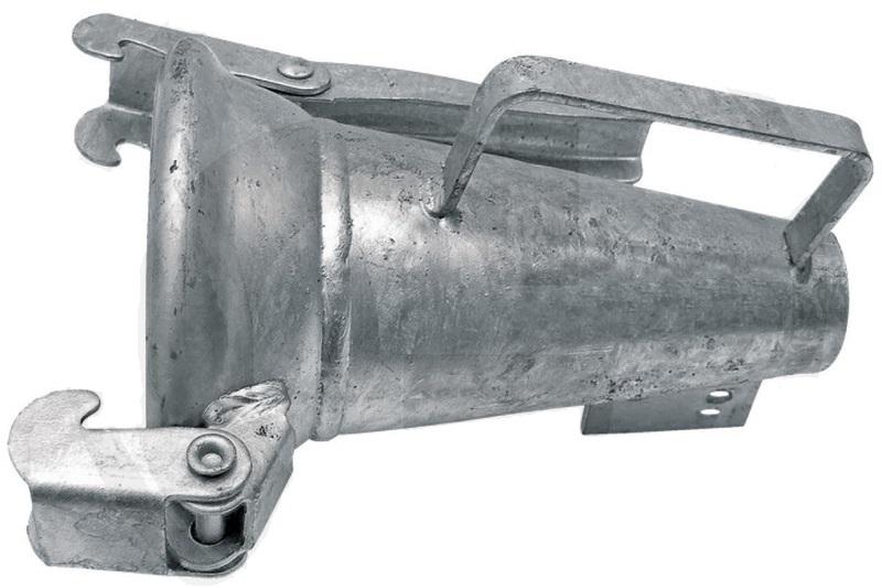 Berselli Ital ocelová tryska rozstřikovače kejdy se samicí 4″ pro fekální vozy