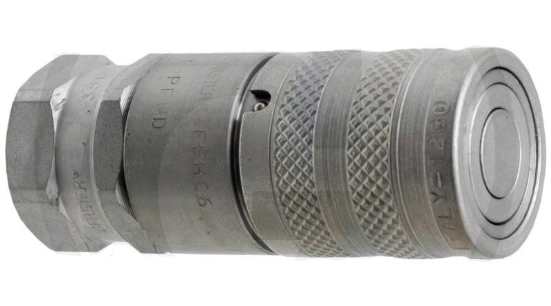 Hydraulická spojka, rychlospojka plochá samice FASTER série FFH06-2/2215 F