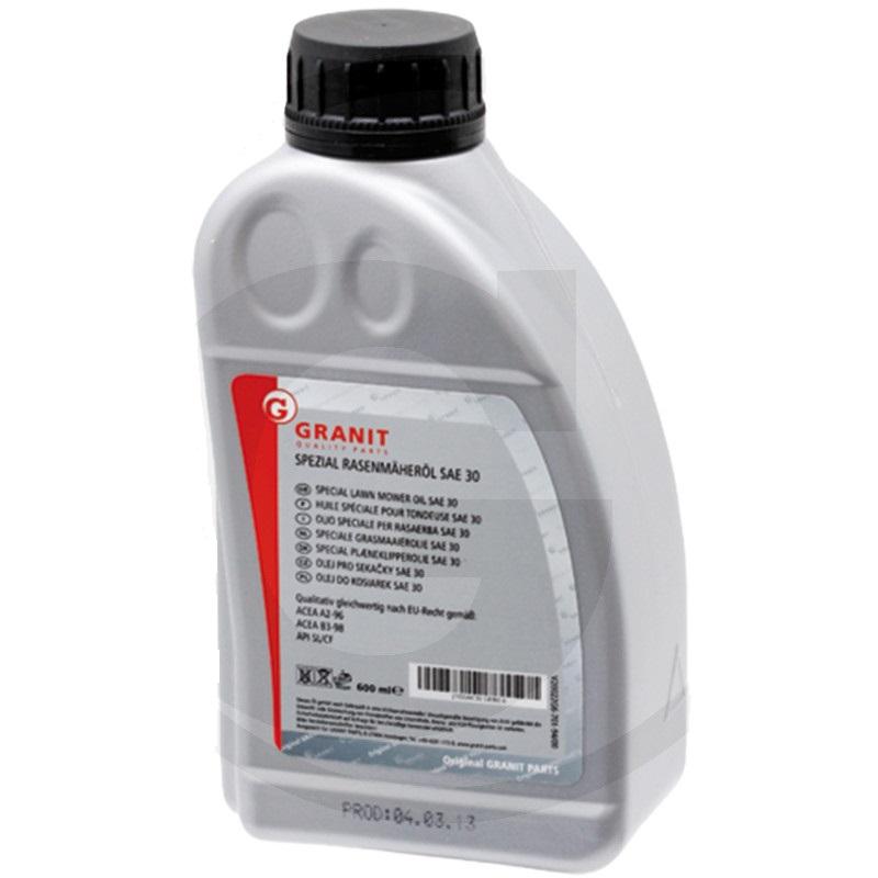 Motorový olej Granit SAE 30 do zahradní sekačky, traktůrku pro čtyřtaktní motory