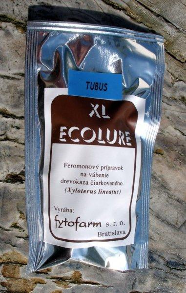 XL Ecolure sáček s 5 návnadami feromonový lapač dřevokaze čárkovaného