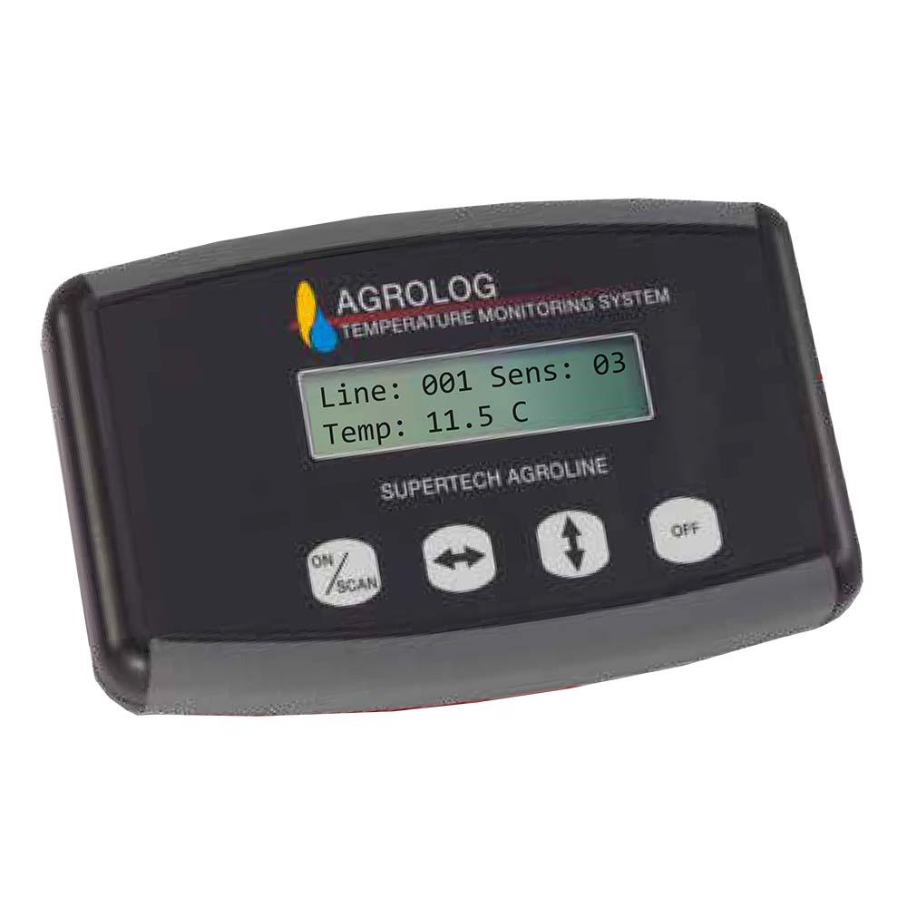 Měřící přenosný panel Agrolog TMS 2000 – terminál pro měření teploty v silech