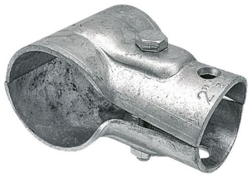 Stájová trubková T spona dvojdílná s 1 šroubem průměr 60 mm