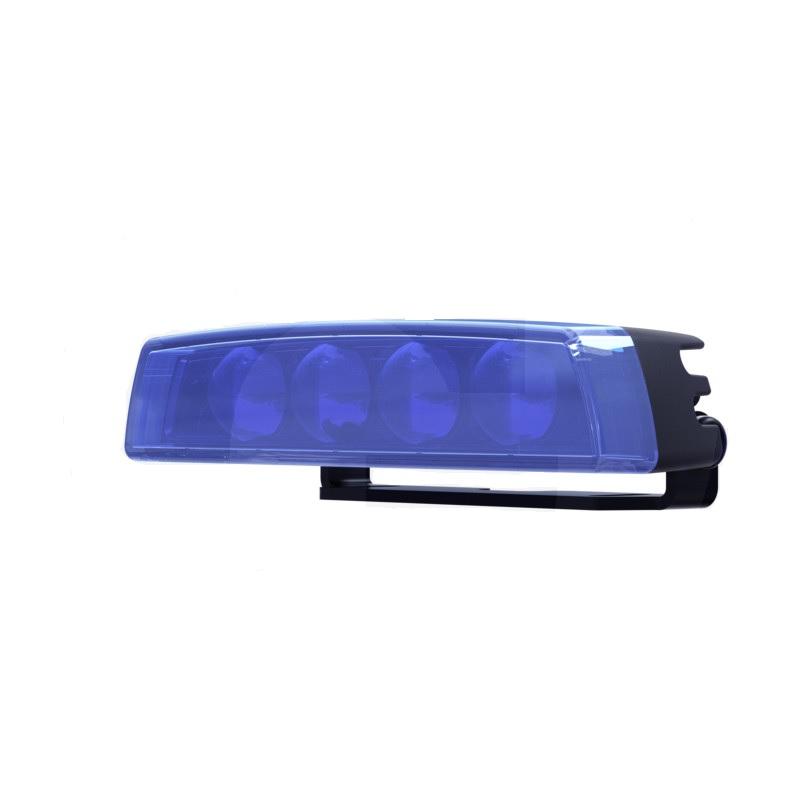 Modrá výstražná světla na vysokozdvižné vozíky VZV TYRI VL4 Bluepoint příkon 15 W