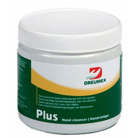 Dreumex Plus čistící gel na ruce žlutý 600 ml s citrusovou vůní