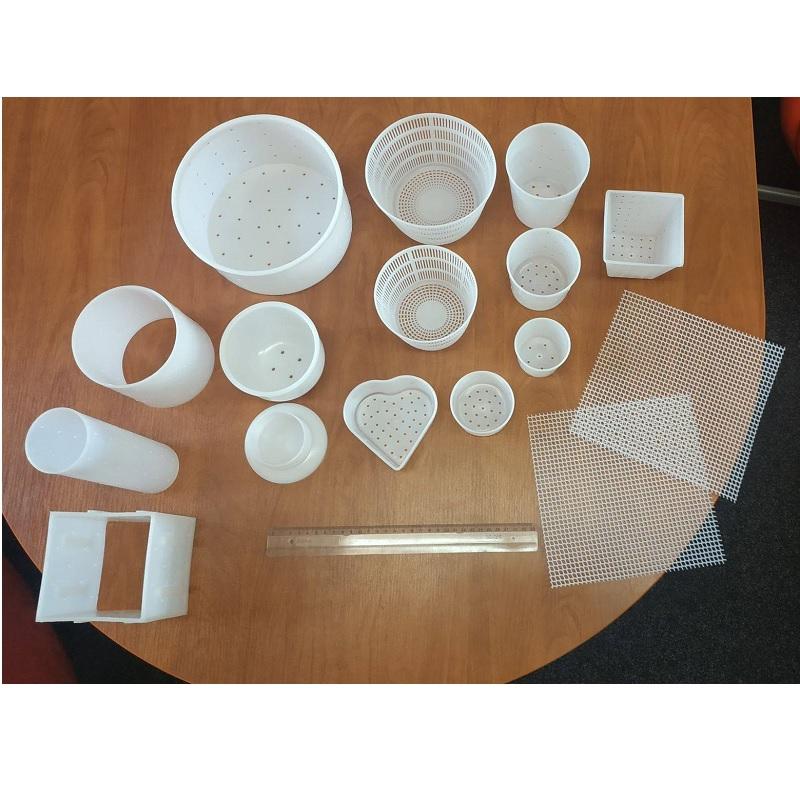 Sada formy na sýr a odkapávací podložky MILKY 17 ks výhodné balení