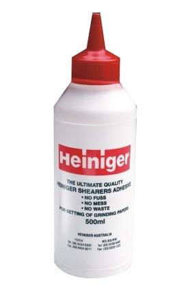 Lepidlo Heiniger latexové 250 ml na lepení brusných kotoučů na brusky