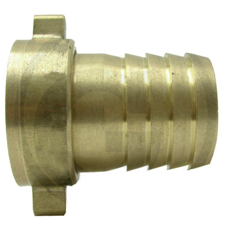 Mosazná hadicová přípojka šroubení 1″ pro zahradní hadice na vodu průměr 25 mm
