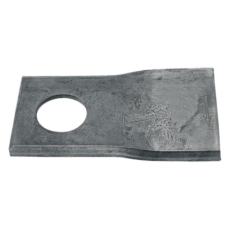 Nože rotační 25 ks pravé pro Fella, JF-Stoll sekačky 106 x 48 x 4 mm