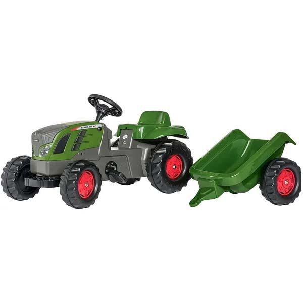 Rolly Toys - šlapací traktor s vozíkem Fendt 516 Vario modelová řada rollyKid