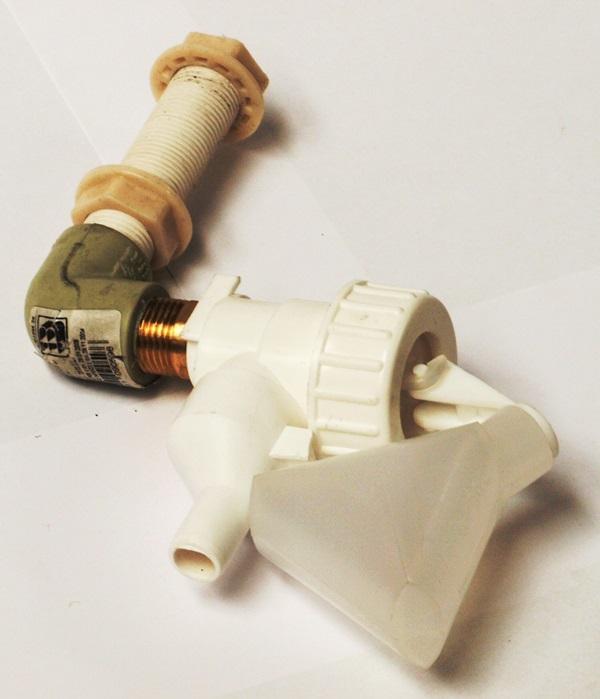 Plovákový ventil  PL MACRO hladinové napáječky KH 9 l pro ovce, kozy, skot a koně
