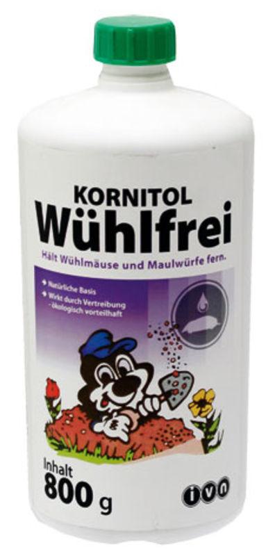 Kornitol WÜHLFREI pachový odpuzovač hrabošů a krtků granulát 800 g