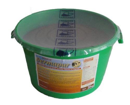Minerální liz Dermapur Minilic pro koně, skot a kozy 20 kg na kožní problémy