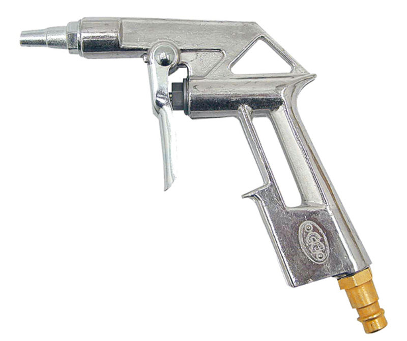 Vzduchová ofukovací pistole krátká