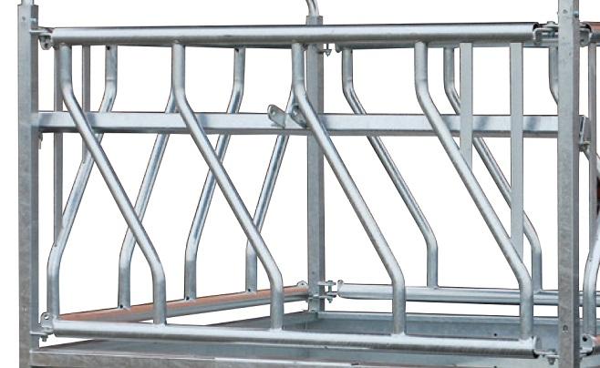 Náhradní panel šikmé příčky pro palisádový krmelec Cosnet RTO délka 1,83 m 3 hlavy
