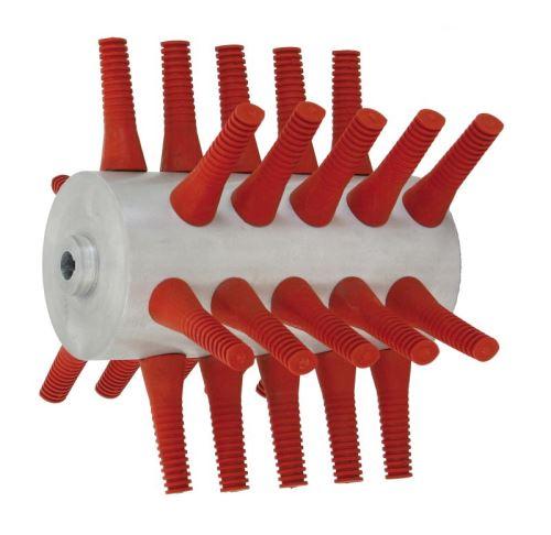 Škubací válec na škubačku drůbeže Piumina s 30 prsty Super