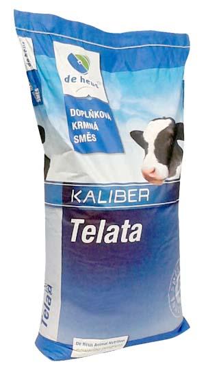 KaliberJunior 25 kg melasovaná doplňková krmná směs pro telata od 3. měsíce
