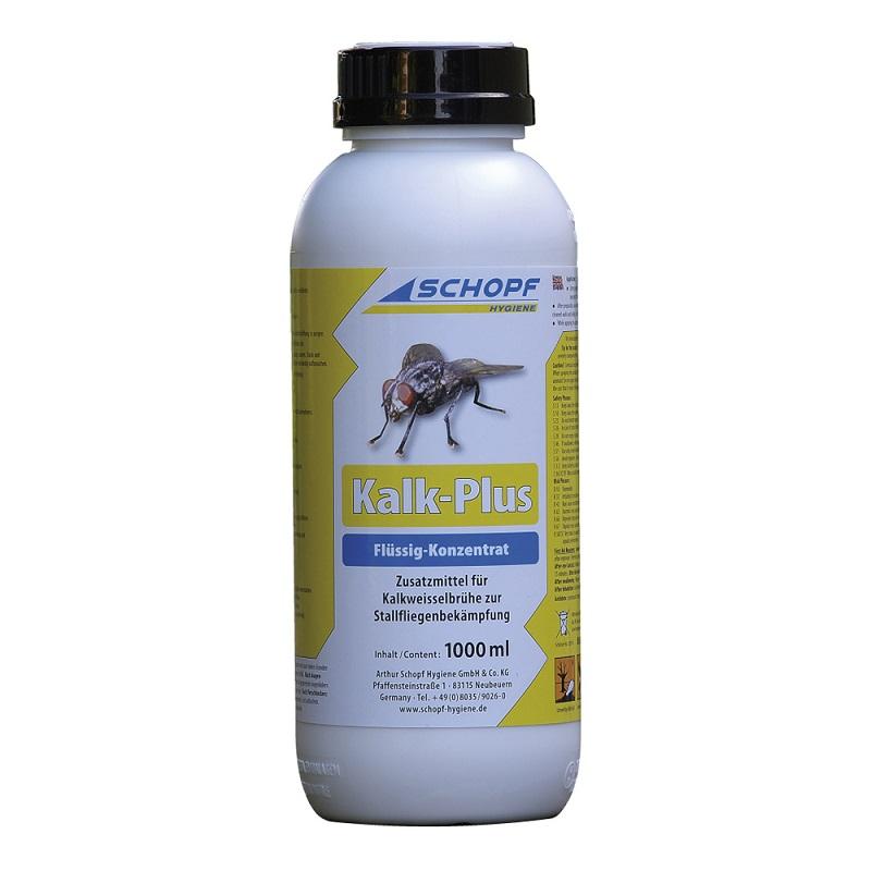 KALK PLUS koncentrát 1000 ml přísada do vápna na hubení much ve stáji