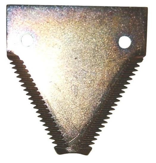 Žabka, žací nůž vhodný pro Case IH, Clayson a New Holland horní ozubení, balení 25 ks