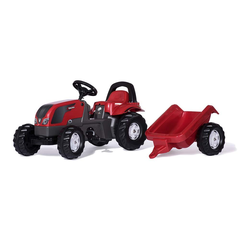Rolly Toys - šlapací traktor Valtra s vozíkem modelová řada RollyKid
