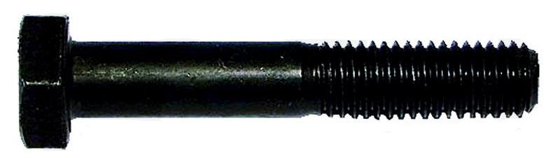 Šestihranný šroub černěný M12 x 60 pevnost 10.9 DIN 931 ISO 4014