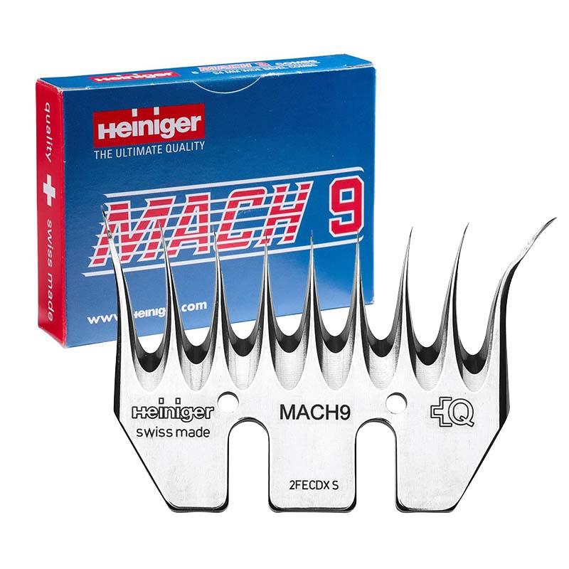 Heiniger MACH9 6/94 spodní nůž na stříhání lam alpak