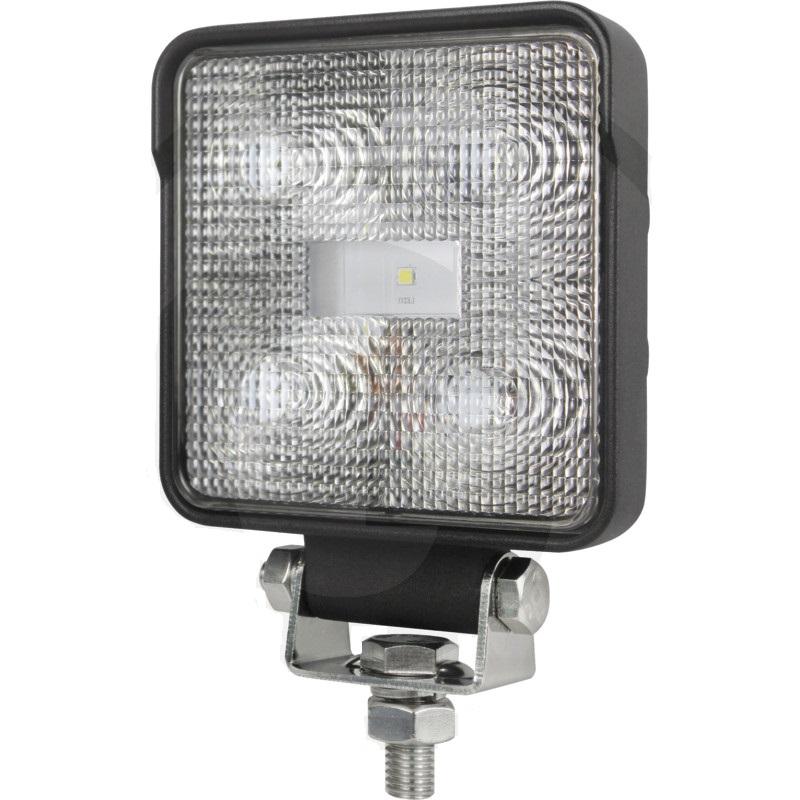 LED pracovní světlomet hranatý 5 High Performance LEDs 12V a 24V 800 Lumen
