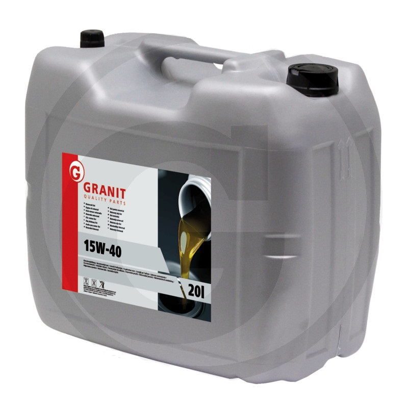 Motorový olej Granit HDC-IL SAE 15W-40 vícestupňový