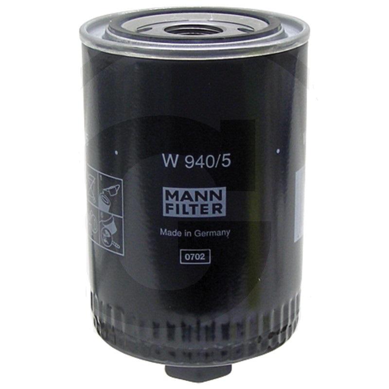 MANN FILTER W940/5 filtr motorového oleje vhodný pro Claas, Deutz-Fahr, Fendt, Zetor UŘ II