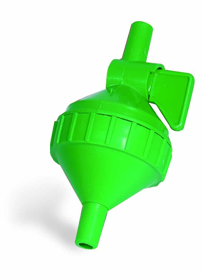 Filtr na hadičku 9 mm s kohoutkem pro hadičkové napájecí systémy rozebiratelný