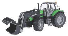 Bruder - traktor - Deutz Agrotron X720 s čelním nakladačem