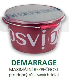 Minerální liz TOPLICK Osvior DEMARRAGE melasový pro dobrý růst savých telat 20 kg