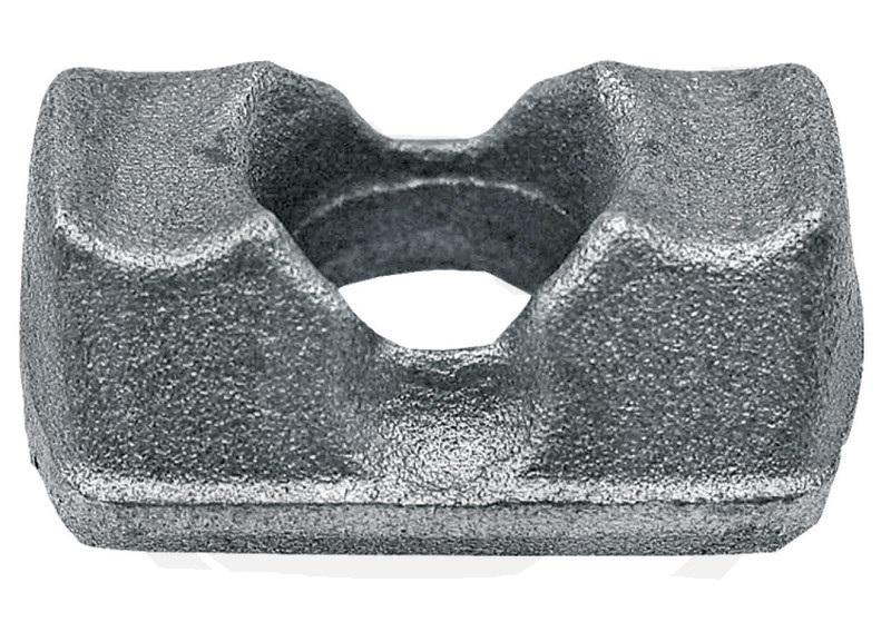 Svorka šroubu rozmetadla hnoje Fristein, Kemper, Saphir průměr díry 12 mm řetěz 11 x 35 mm