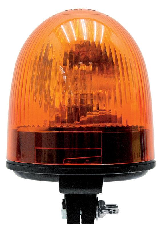 Oranžový výstražný maják Geka flexibilní 12V na auto, traktor, zemědělské stroje