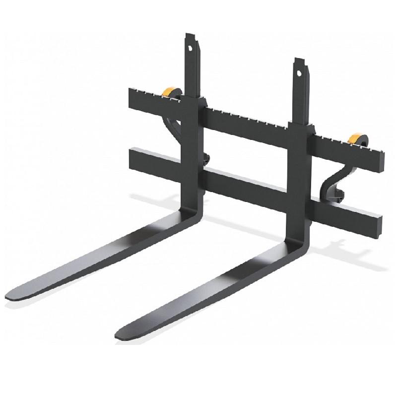 Paletizační vidle Quicke nosnost 1600 kg délka vidlí 122 cm, typ FEM II, EURO upínání