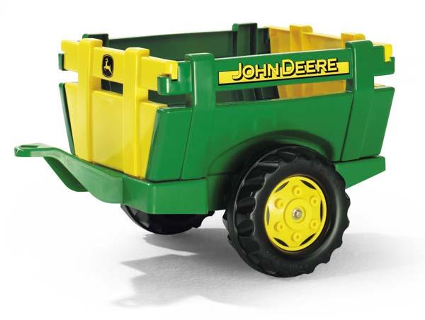 Rolly Toys – farmářský zelenožlutý přívěs John Deere