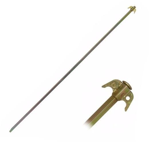 Zemnící tyč 1 m bez připojovacího kabelu pro elektrický ohradník