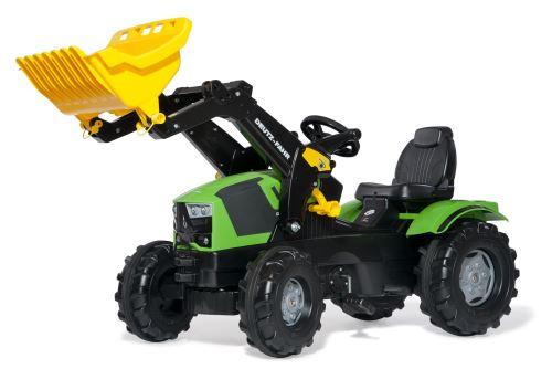 Rolly Toys - šlapací traktor s čelním nakladačem Deutz-Fahr 5120 Rolly FarmTrac