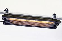 Infrazářič stropní SYNER LC 1000 W černý na 6 m3 do koupelny, venkovní na terasu