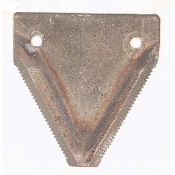 Žabka na žací lištu DIN 80 R UG spodní ozubení vhodná pro Deutz, LFE, balení 25 ks