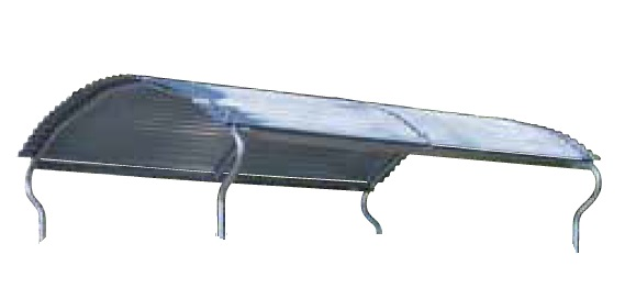 Náhradní střecha pro palisádové krmelce Cosnet RDTF II - RDTC II délka střechy 310 cm