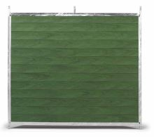 Stěna venkovního boxu 2 x 1,85 m pro psy z PVC