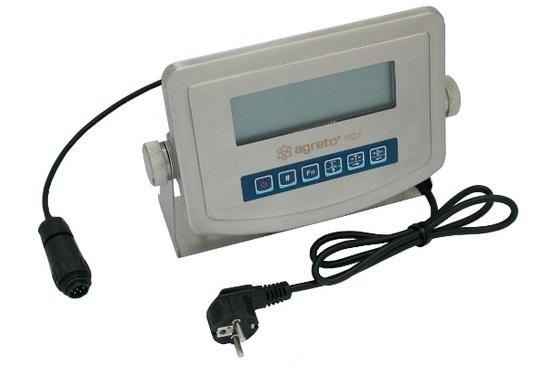 Váhový terminál Agreto HD1, indikátor vážení, displej váhy