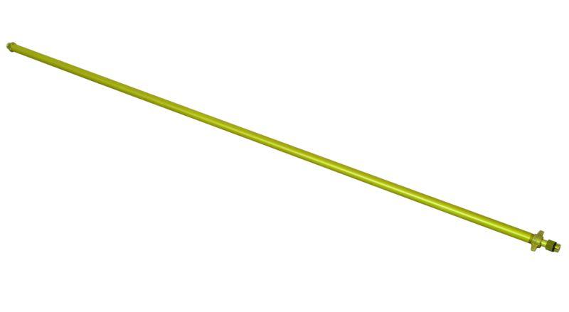 Hliníková prodlužovací teleskopická trubka pro zahradní postřikovače Birchmeier 0,5 – 1 m