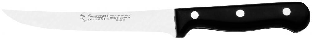 Řeznický vykosťovací nůž Burgvogel Solingen 4710.401.15.0 délka ostří 15 cm